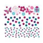 Bright Sequin Foil & Paper Confetti 34g - 12 PC