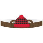 Little Lumberjack Paper Crowns - 12 PKG/8