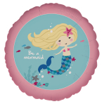 Be A Mermaid Standard Foil Balloons S40 - 5 PC