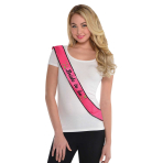 Hen Party Bride to be Sequin Sashes - 6 PC