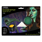 Wicked Witch Make Up Kit - 4 PKG/7