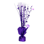 Purple Spray Centrepiece Balloon Weights 30cm - 6 PC