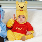 Disney Winnie the Pooh All-In-One Romper with Moulded Head - Age 6-12 Months - 1 PC