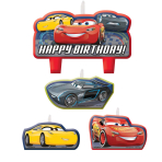 Cars 3 Candle Sets - 6 PKG/4