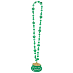 St. Patrick's Pot Of Gold Necklaces 91cm - 12 PC