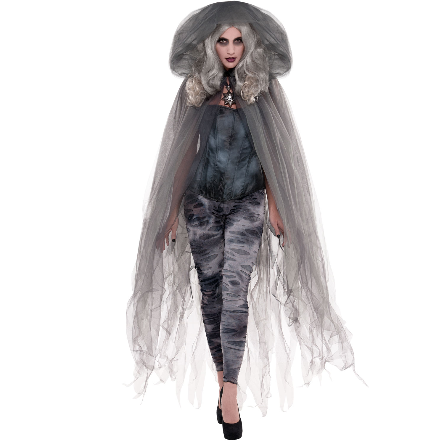 Amscan Adults Zombie Ghost Cape