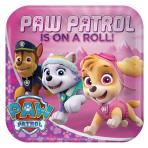 Paw Patrol Pink Paper Plates 23cm - 6 PKG/8