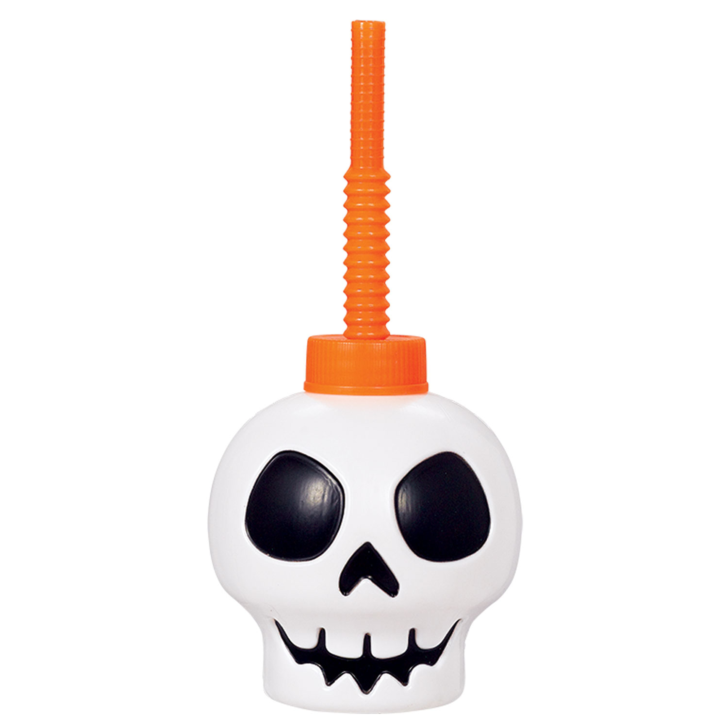 halloween skull sippy cup x 3