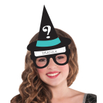 Witches Hat Glasses Game 22cm - 6 PKG/2