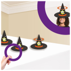 Witch Hat Ring Toss Games - 12 PKG/6