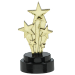 Hollywood Trophies 7.6cm - 6 PKG/6