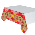 Chinese New Year Plastic Tablecovers 1.2m x 1.8m - 6 PC