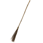 Straw Witch Brooms 1.3m - 24 PC