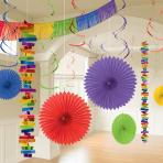 Rainbow Room Decoration Kits - 6 PKG/18