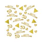 Sparkling Golden Anniversary Confetti 28g - 6 PC