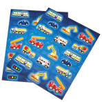 Transport Stickers - 6 PKG/4