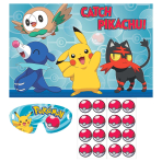 Pokémon Pin the Party Games - 6 PC