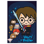 Harry Potter Plastic Loot Bags - 6 PKG/8