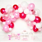 Pink DIY Garland Balloon Kits - 4 PKG/70