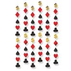 Casino String Decorations - 6 PKG/6