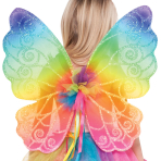 Children Rainbow Fairy Wings - 6 PC