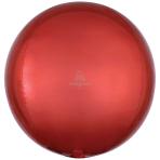 "Orange Orbz Unpackaged Foil Balloons 15""/38cm w x 16""/40cm h G20 - 3 PC"