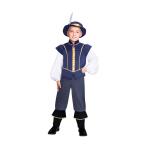 Tudor Prince Boy Costume - Size 4-6 Years - 1 PC