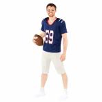 Football Quarterback Costume - Size M - 1 PC