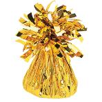 Gold Foil Balloon Weights 170g/6oz - 12 PC