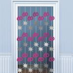 60th Birthday Door Curtains 2m - 6 PKG