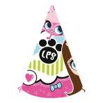 Littlest Pet Shop Paper Party Hats - 5 PKG/6