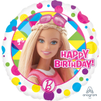 Barbie Sparkle Happy Birthday Standard Foil Balloons - S60 5 PC