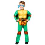 Teenage Mutant Ninja Turtles Deluxe Costume - Age 6-8 Years - 1 PC