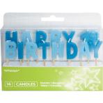 Happy 1st Birthday Boy Pick Candles - 6 PKG/14