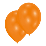 Pearl Orange Latex Balloons 27.5cm - 50 PC