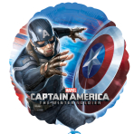 Captain America Winter Soldier - Standard HX Foil Balloons - S60 - 5 PC