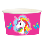 Unicorn Paper Treat/Ice Cream Cups 251ml - 10 PKG/8