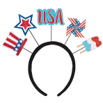 4th of July Patriotic Head Boppers - 6 PC