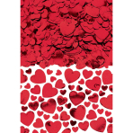 Hearts Red Confetti 70g - 12 PC