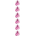 Pink Shimmer 60th Cascade Columns 2.1m - 6 PKG