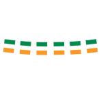 Ireland Flag Small Plastic Bunting    - 3m 6 PKG