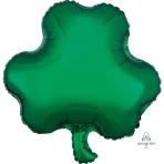 St. Patrick's Shamrock Junior Shape Foil Balloons S40 - 5 PC