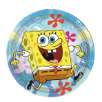 SpongeBob Paper Plates 18cm - 10 PKG/8