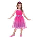 Barbie Princess Girls Costume - Age 8-10 years - 1 PC
