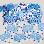 It's a Boy Metallic Confetti 14g - 12 PC