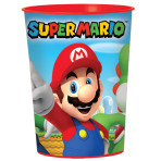 Super Mario Plastic Favour Cups 473ml - 12 PC
