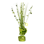 Kiwi Green Spray Centrepiece Balloon Weights 30cm - 6 PC