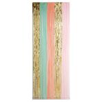 Pastel Door Curtains - 6 PC