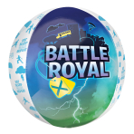 "Battle Royal Orbz Foil Balloons 15""/38cm w x 16""/40cm h G20 - 5 PC"