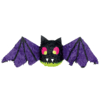 Spooky Bat Pinatas - 4 PC